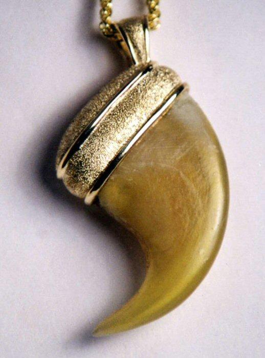 African Inspired Claw Jewelry 14k Fine Jewelry