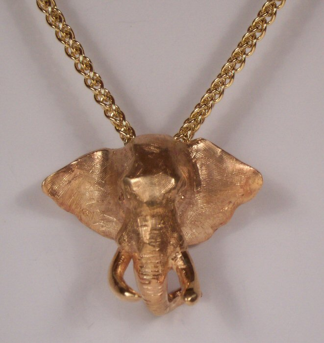 African wildlife inspired necklaces pendants 14k fine jewelry african wildlife jewelry aloadofball Image collections